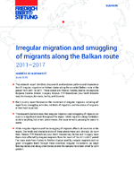 Irregular migration and smuggling of migrants along the Balkan route