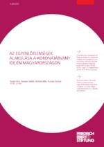 Az egyenlotlenségek alakulása a koronajárvány idején magyarországon