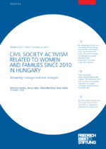 Civil society activism related to women and families since 2010 in Hungary